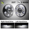 Ce Rohs Dot E-Mark Left Right Hand Driving 40W 7 Inch Round Jeep Wrangler Led Headlight