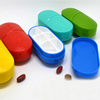 Medicine Tablet Shaped 6 Compartment Pill