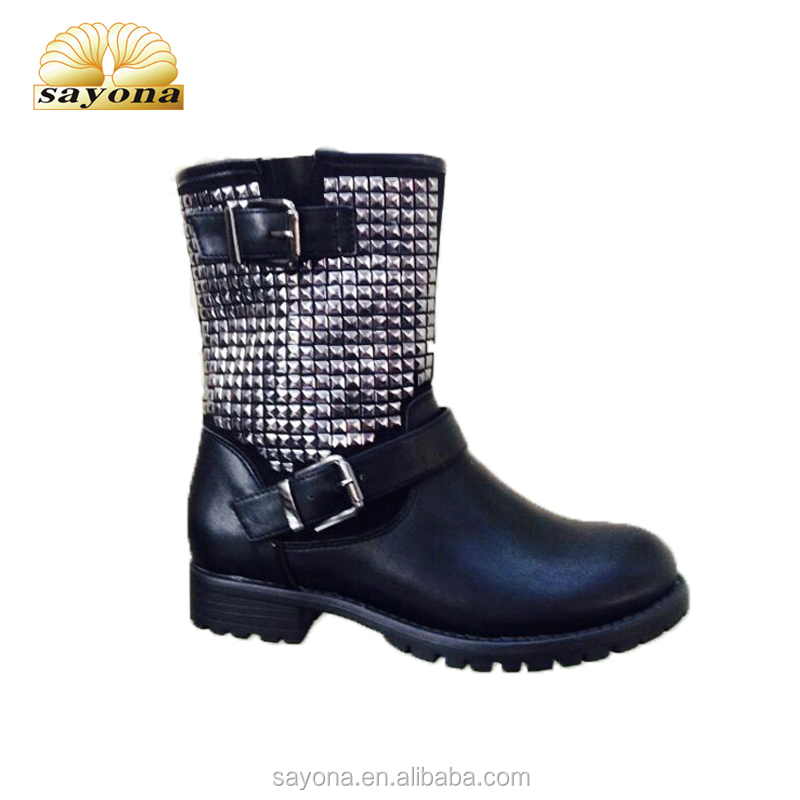 China new design long cheap wholesale winter kids boots for girls