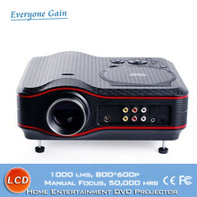 DH-TL91 led projector built in dvd player with Antenna Game Disc Joystick