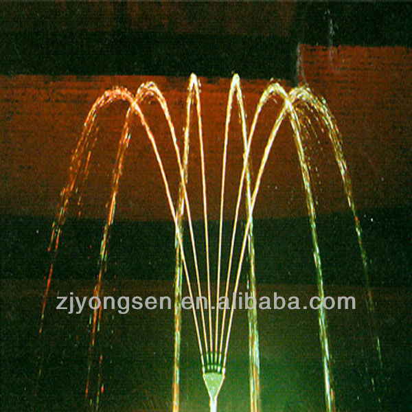 SS304 Finger Series Water Fountain Nozzles 1''