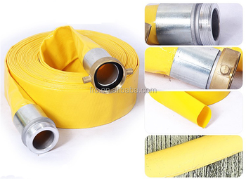 High quality flexible Pvc Lay Flat Discharge Hose