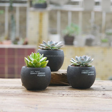 mini plant pots guangdong craft artificial succulents pot
