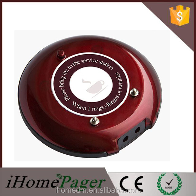 Guest Coaster Pager System Wireless Pager Smart Paging System