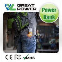 High quality hot-sale solar power bank for iphone 5000mah