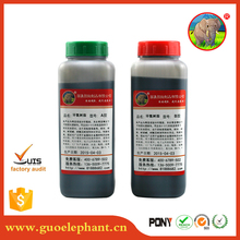 Super pure epoxy resin rubber to steel adhesive glue for marble