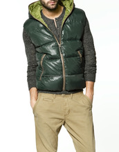 Wholesale custom spring boys sleeveless jacket for men