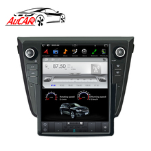 AuCAR <strong>12</strong>.1&quot; Tesla <strong>Android</strong> Car Radio for Nissan <strong>X</strong>-Trail Qashqai Rougge 2014-2019 Touch Screen Stereo Video GPS Multimedia BT WiFi