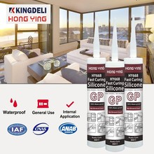 waterproof acetic clear window silicone sealant