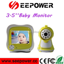 Wireless Video Baby Monitor With 3.5 inch Receiver, Two Way Talk, 300m Distance, Night Vision And Temperature Monintoring