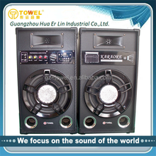 Professional Karaoke Speaker Good Quality 2.0 Active Speaker With Amplifier,USD,SD Model Box Speaker Audio
