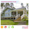 European Style Green Beautiful Log House for Sale