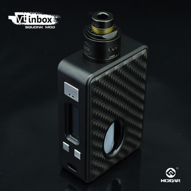 2018 trending products HCigar VTinbox V3 kit squonk kit squonk silicone bottle