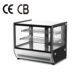 36'' 'Bakery Showcase Curved Glass Cake Showcase Small Hot Cake Display Countertop Refrigerated Cooler Freezer Refrigerator