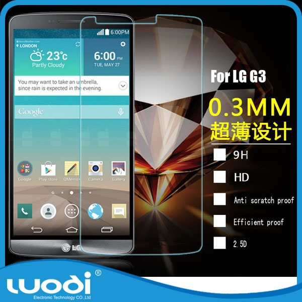 Premium Tempered Glass Screen Protector for LG G3