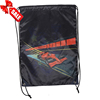 Reusable Promotional Waterproof Backpack Black Drawstring Bags With Logo
