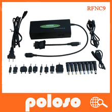 RFNC9 poloso Best Price universal replacement notebook laptop AC DC Power Adapter charger with 2 USB port