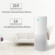portable intelligent air purifier with bacteria detection