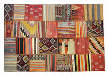 Turkish Patchwork Kilim Rug