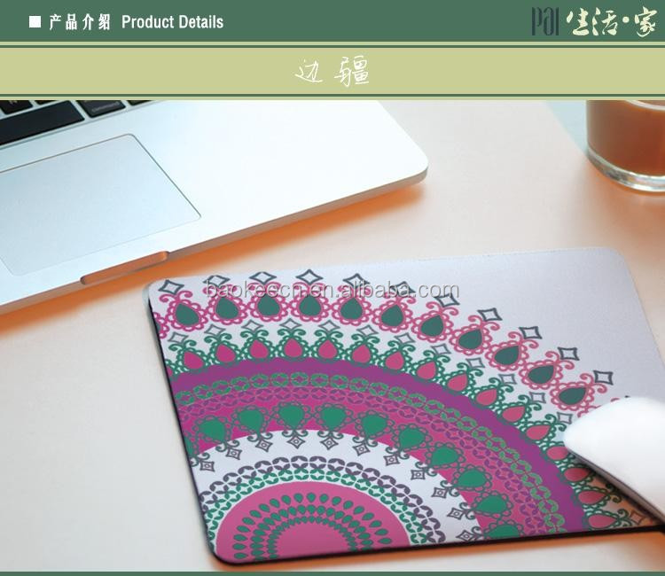 Hot Sale Eco- friendly Promotional Laptop Desk PVC Sticker Mouse Pad