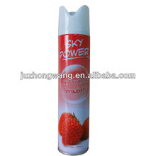 Aerosol Air Freshener--Many different fragrance : lemon, rose, jasmine, strawberry ,apply, lavender, sandalwood