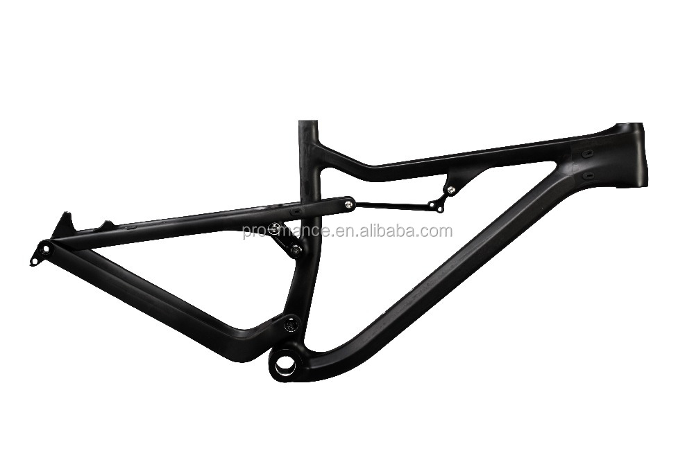 26er/27.5er/29er toray carbon t700 Full Suspension Fat mountain Bike Carbon Frame