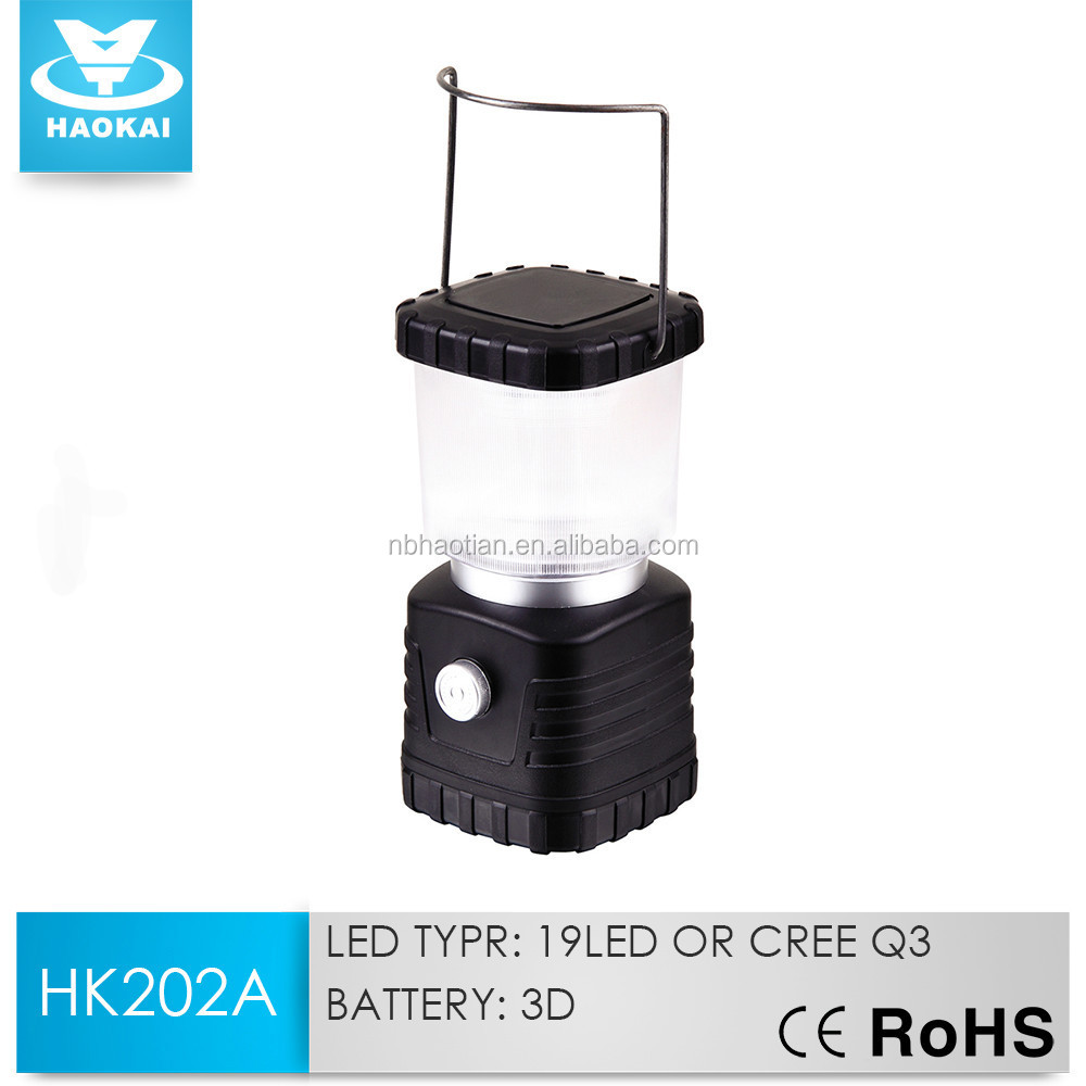 Great Square Rechargeable 19LED Camping Lantern