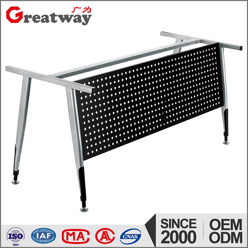 Top selling mobile training tables metal frame leg