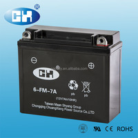 Chinese Chongqing 12v Battery for Three Wheel Motorcycle