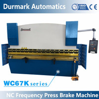 WC67K Hydraulic Press Brake , hydraulic sheet bending machine
