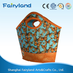 Latest chinese product Floral Portable tote bag from alibaba china market
