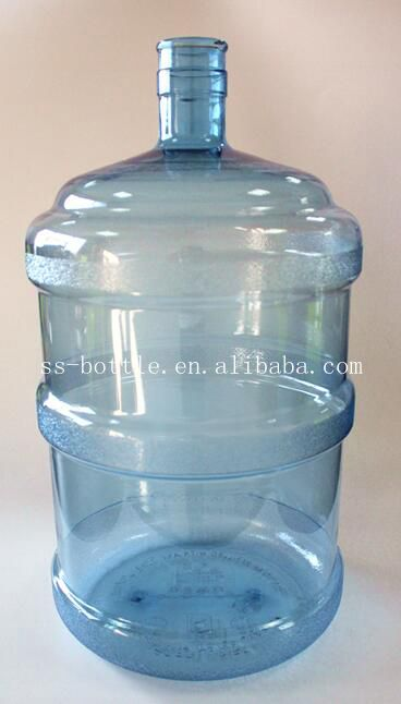 5 Gallon Plastic Water Bottle 19 Litre Water Container