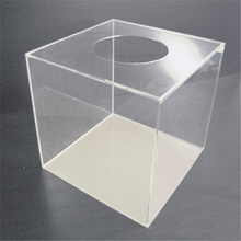Wholesale high quality custom shape acrylic lucky draw box