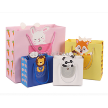 Animal style gift packing in stock custom paper bag