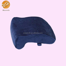 soft pu memory foam siesta pillow for noon rest in office