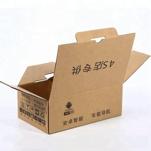 Food grade corrugated slotted carton paper box