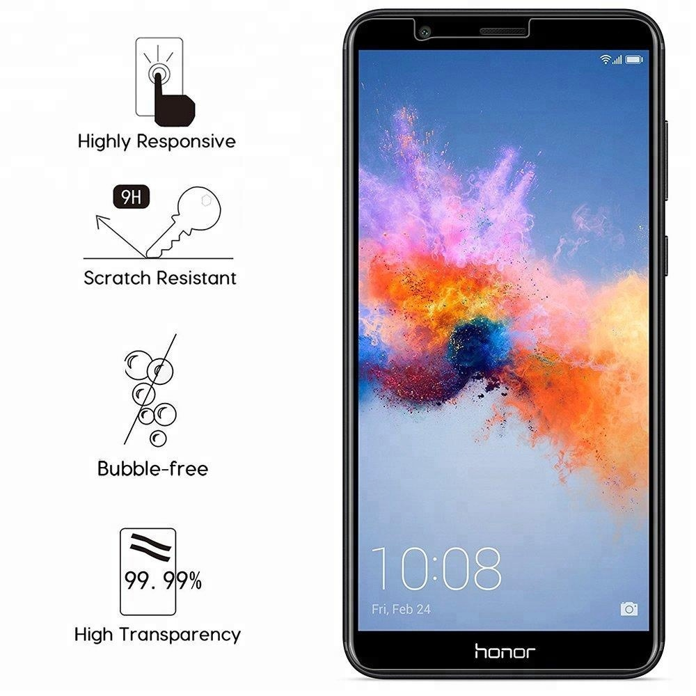 Maxshine For Huawei honor 7x Screen Protector 2017 Hot Sale 0.3mm 2.5D 9H Tempered Glass For Huawei honor 7x mate se