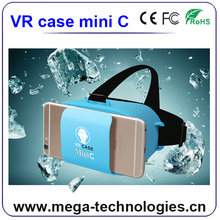 Super mini VR box 3D glasses virtual reality headset panoramic viewer