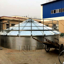 Hot sale Steel poultry feed silo for feed pellet mill