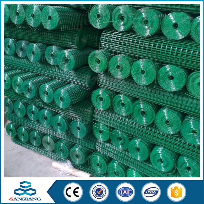 Low price 1 inch pvc coated 10 gauge welded wire mesh