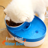 Amazon hot sale pet water fountain recycle feeder for dog cat mate water fountain