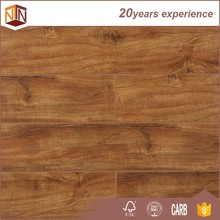 7mm oak color waterproof engineered wood grain laminate flooring
