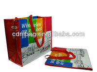 Large Tote bag for promotional colorful design