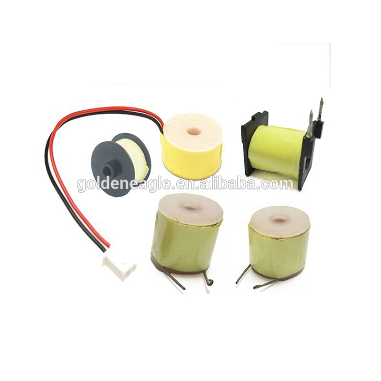 custom electric induction coil solenoid induction coil electric plastic assembly with best price