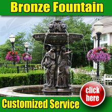 Hight Quality New Design Bronze Fountain for Garden ( customized service )
