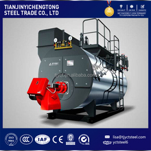 4000kg/h Horizontal industrial oil /natural gas field fired steam boiler for sale WNS4-1.25-Y(Q)