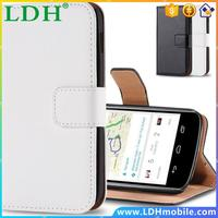 Book Style High Quality Real Genuine Leather Phone Case For LG Google Nexus 4 E960 Card Holder Wallet Phone Cover For Nexus 4