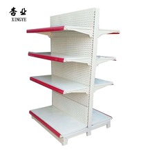 Q235 milk white gondola supermarket <strong>shelf</strong> display <strong>shelf</strong> for global market