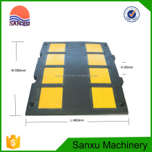 High Load Capacity Rubber Material Safety Speed Bump
