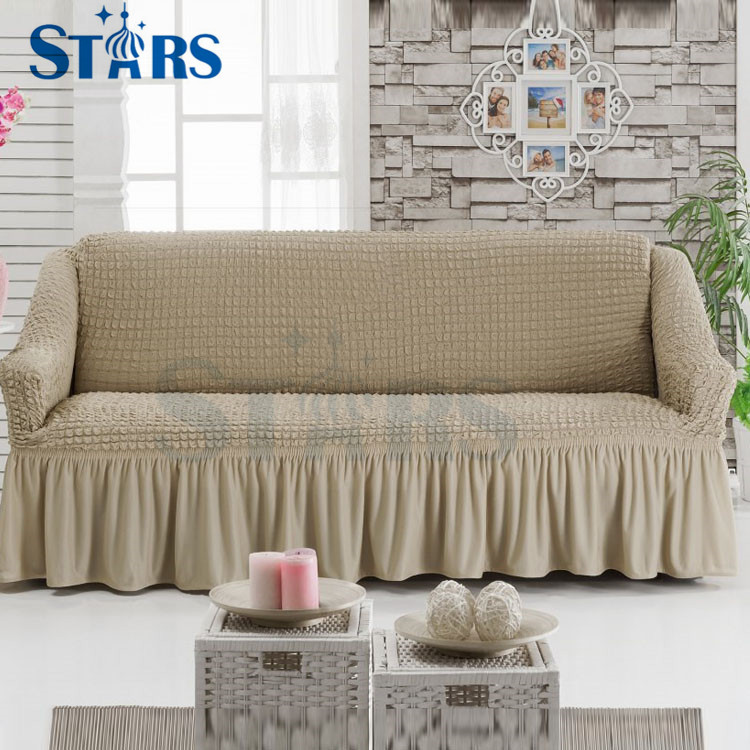 GS-SC-06 fancy cheap polyester Spandex beautiful sofa cover for <strong>protective</strong>